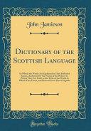 Dictionary of the Scottish Language