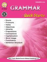 Grammar Quick Starts Workbook PDF