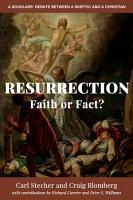 Resurrection  Faith or Fact  PDF