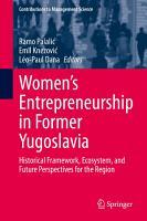Women s Entrepreneurship in Former Yugoslavia PDF