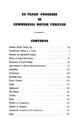 20 Years   progress in Commercial Motor Vehicles  1921 1942  PDF