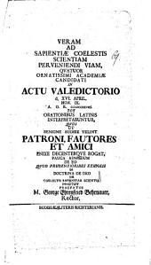 De eo, quod prudentioribus ethnicis in doctrina de Deo, de coelestis sapientiae scientia innotuit