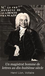 président Hénault, 1685-1770