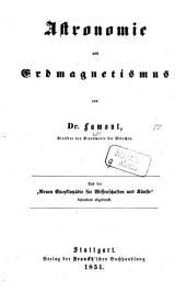 Astronomie und Erdmagnetismus