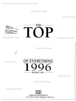 Top Ten of Everything 1996 PDF