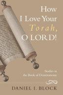 How I Love Your Torah, O LORD!