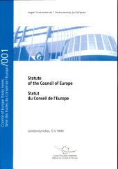 Statut du Conseil de l'Europe (y compris amendements et textes additionnels) (STE1)