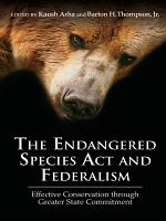 The Endangered Species Act and Federalism PDF