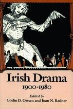 Irish Drama, 1900-1980
