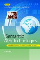 Semantic Web Technologies PDF