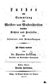Deutsche Fabeldichter: Für Schulen bearb