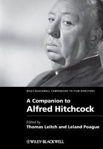 A Companion to Alfred Hitchcock Book