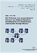 Ein Verfahren zum automatischen Entwurf von Mensch Maschine Schnittstellen am Beispiel myoelektrischer Handprothesen PDF