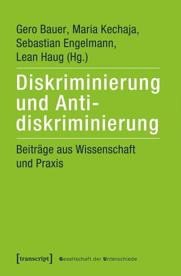 Diskriminierung und Antidiskriminierung PDF