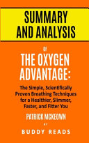 Summary and Analysis of The Oxygen Advantage