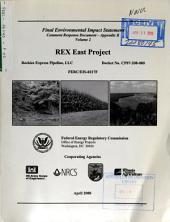 REX East Project: Environmental Impact Statement, Volume 2