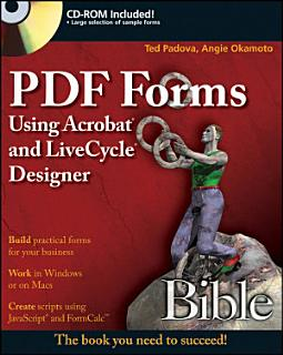 PDF Forms Using Acrobat and LiveCycle Designer Bible Book