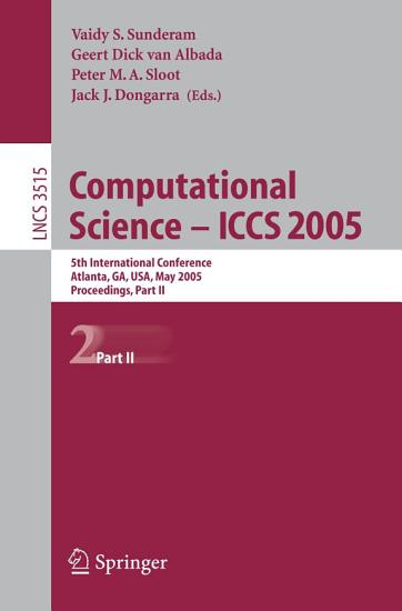 Computational Science    ICCS 2005 PDF