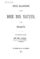 Eene bladzijde uit het boek der natuur