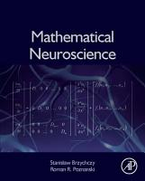 Mathematical Neuroscience PDF