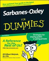 Sarbanes-Oxley For Dummies: Edition 2
