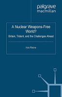 A Nuclear Weapons Free World  PDF