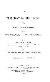 THE TESTIMONY OF THE ROCKS