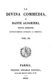 La divina commedia: Del Paradiso, Volume 3
