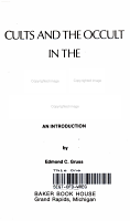 Cults and the Occult in the Age of Aquarius PDF