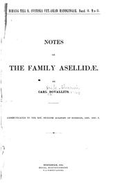 Notes on the Family Asellidae