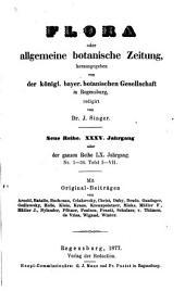 Flora: oder, Allgemeine botanische Zeitung, Band 60