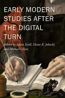Early Modern Studies After the Digital Turn PDF