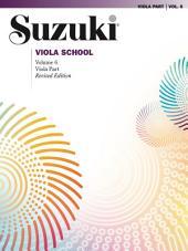 Suzuki Viola School - Volume 6 (Revised): Viola Part