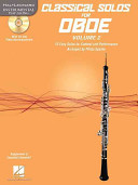 Classical Solos for Oboe  Vol  2 PDF