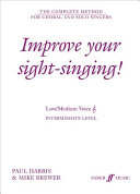 Improve Your Sight Singing Book PDF
