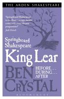 Springboard Shakespeare  King Lear PDF