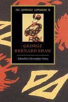 The Cambridge Companion to George Bernard Shaw PDF