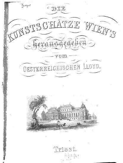 Die Kunstsch  tze Wien s in Stahlstich PDF