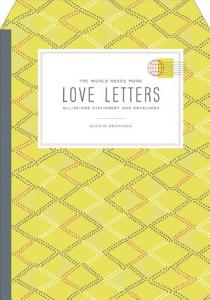 The World Needs More Love Letters Fold and mail Stationery