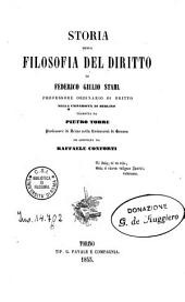 Storia della filosofia del diritto