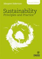 Sustainability Principles and Practice PDF