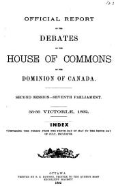Canadian Parliamentary Proceedings and Sessional Papers, 1841-1970