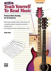 Alfred's Teach Yourself to Read Music for Guitar
