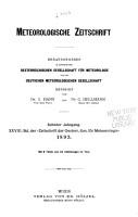 Meteorologische Zeitschrift PDF