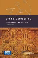 Dynamic Modeling PDF