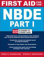 FIRST AID FOR THE NBDE PART 1 2 E PDF