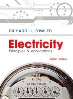 Electricity  Principles and Applications PDF
