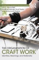 The Organization of Craft Work PDF