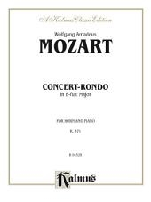 Concert-Rondo in E-flat Major, K. 371: For French Horn Solo