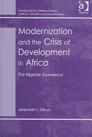 Modernization and the Crisis of Development in Africa PDF